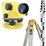 Комплект оптического нивелира NIVOLINE Xi-32 (нивелир штатив рейка 5м) (Цена с НДС)