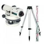 Комплект оптического нивелира Nikon AC-2s + штатив + рейка 5м